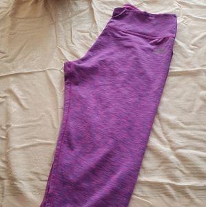 Reebok purple athletic pants. Size XLarge